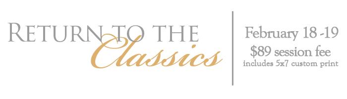 Return to Classics header