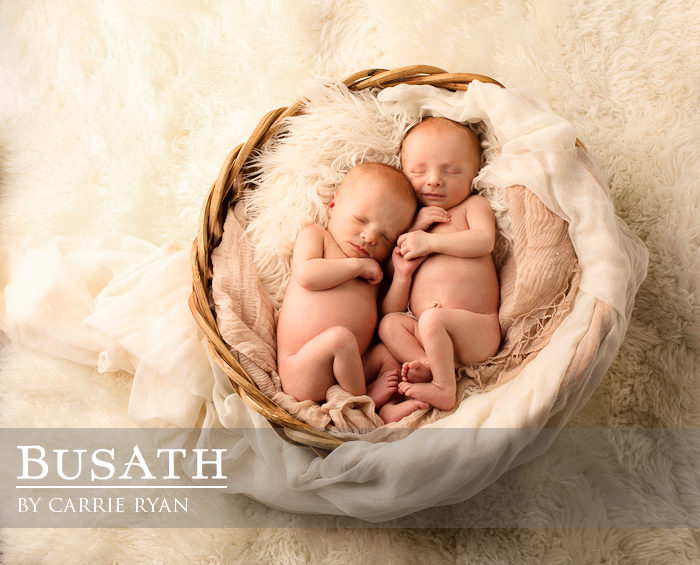 Newborn Twins Photography, Salt Lake City Utah