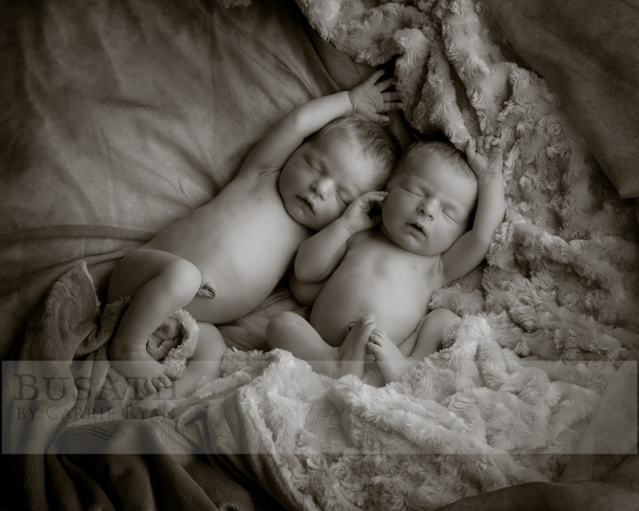 Newborn Twins Pictures, Salt Lake City Utah
