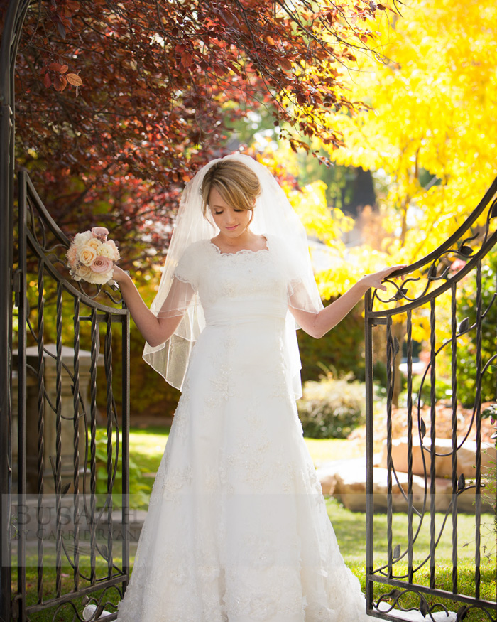 Bridal Photography, Salt Lake City Utah