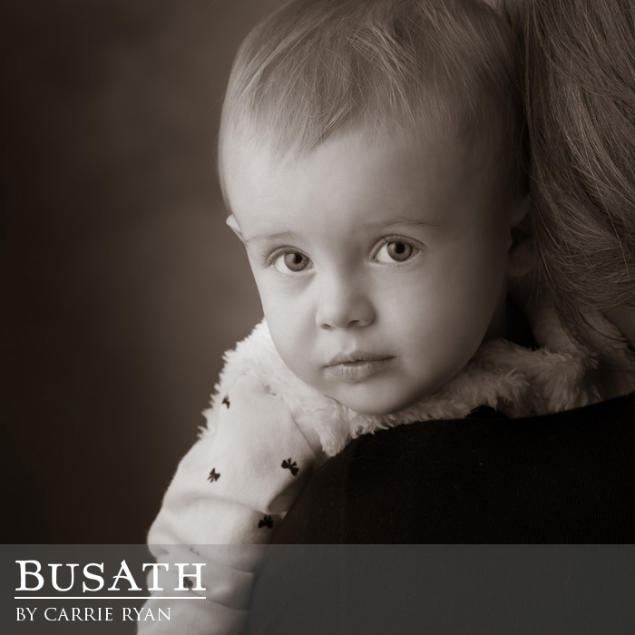 Black And White Children's Photography, Salt Lake City Utah