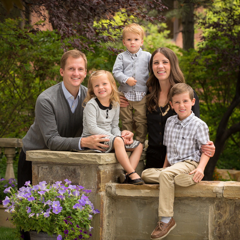 Family, Busath Gardens