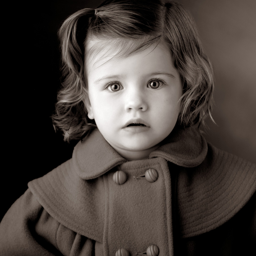 Children's Day Special – Black And White Close-ups