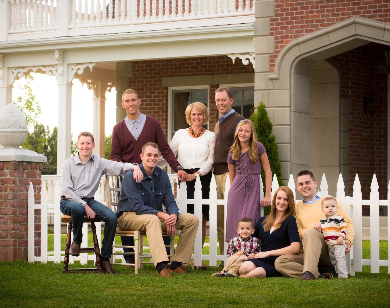 family picture home portrait outdoor utah fun salt Lake city