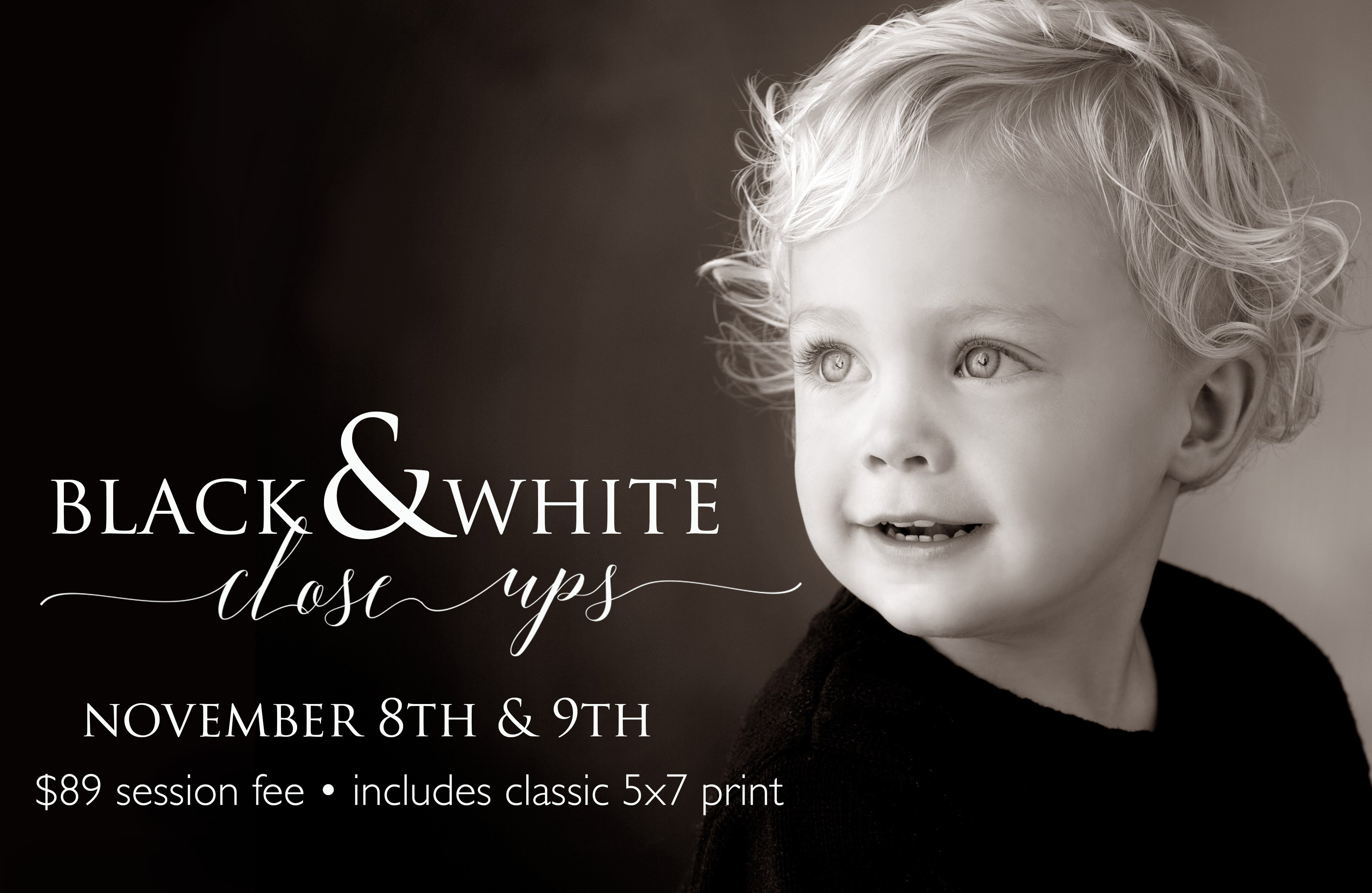 Children's Day Special, Black & White Close-ups