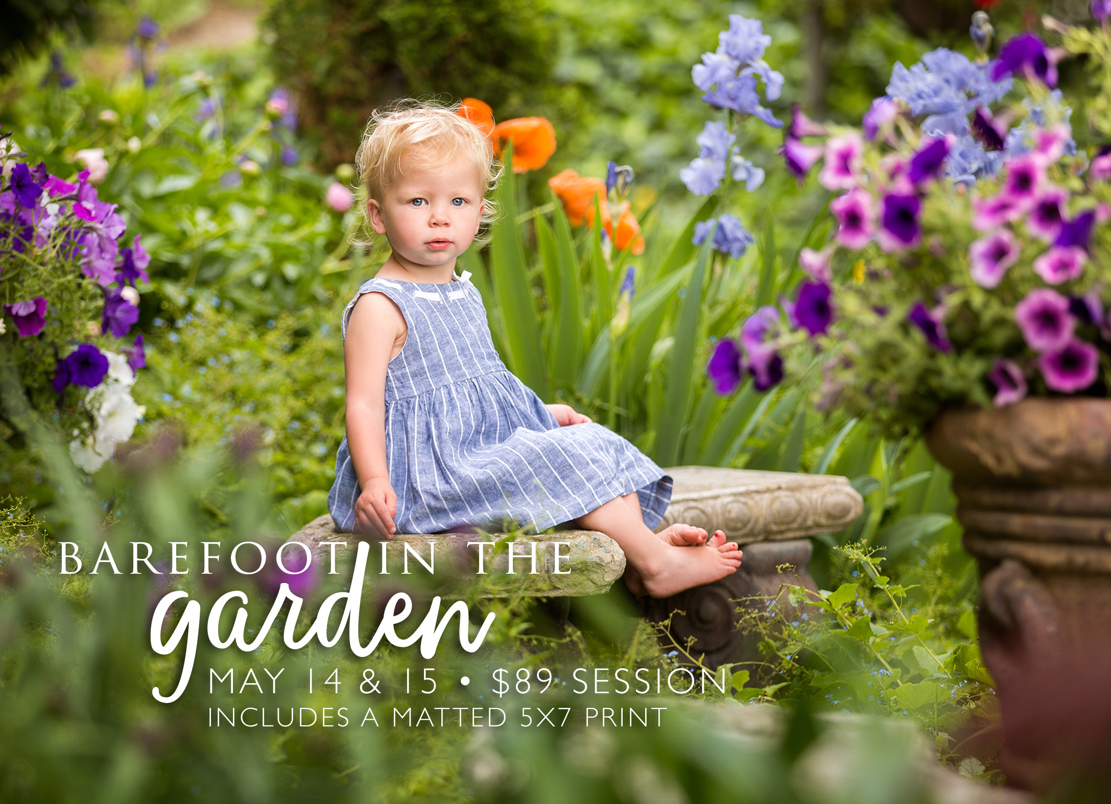 Barefoot In The Gardens May 14 & 15