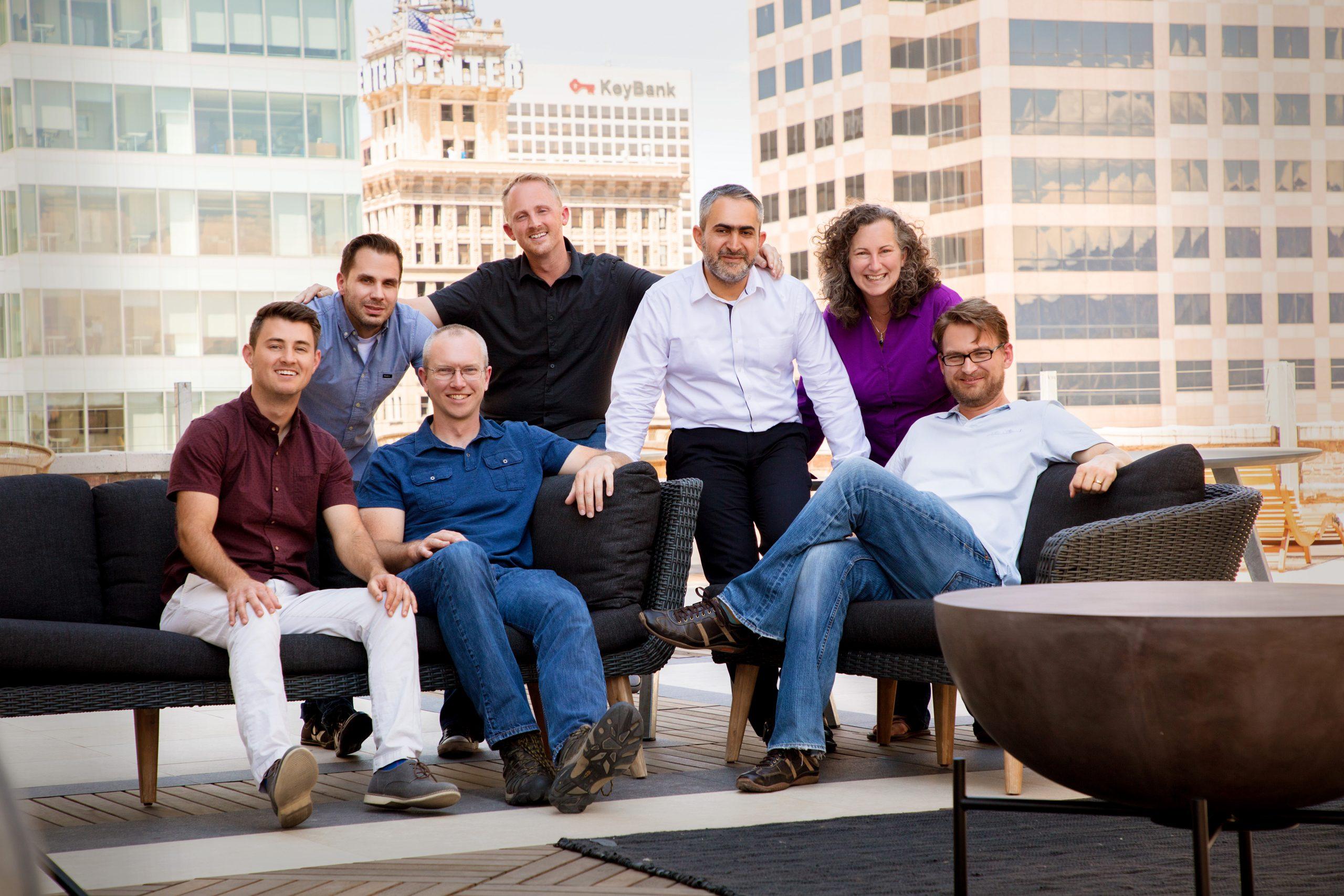 business group portrait Salt Lake City